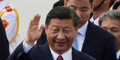 رئيس جمهورية الصين الشعبية شي جين بينغ يصل إلى العاصمة الإماراتية أبو ظبي