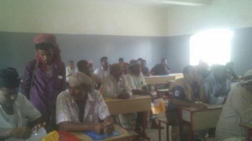 منظمة كير تنظم ورشة تدريبية لتدريب اللجان المجتمعية بمديرية احور