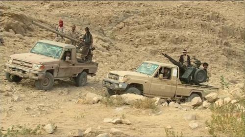 الشرعية تسيطر على مرتفعات استراتيجية في كتاف بصعدة
