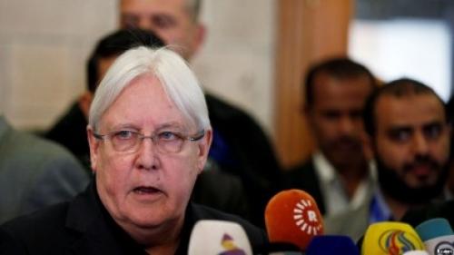 المبعوث الأممي يبحث عن دعم أمريكي لخطته باليمن