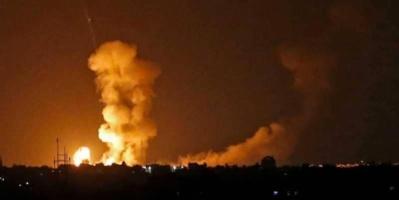 """ضربات إسرائيلية على غزة بعد  """" حادث خطير """""""