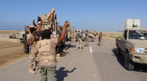 القوات المشتركة تعتقل أكثر من 35 متحوثاً في مديرية التحيتا