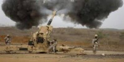 قصف صاروخي ومدفعي يستهدف مواقع وتحركات للمليشيا في رازح وشدا بصعدة