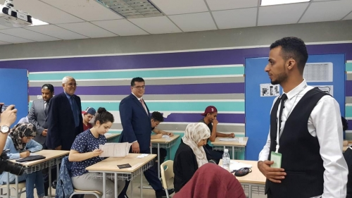 تدشين امتحانات الثانوية العامة لطلاب الجالية اليمنية في ماليزيا
