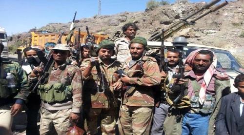 تجدد المواجهات بين قوات الشرعية ومليشيا الحوثي في مريس شمالي الضالع