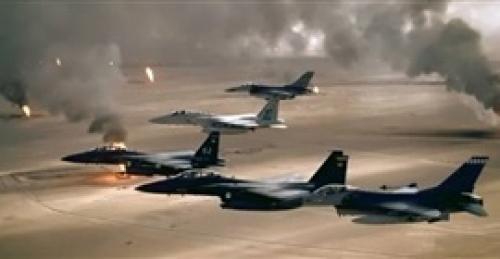 التحالف يقصف تجمعا للمليشيا في مديرية عنس بذمار