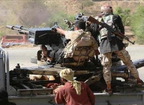قوات الشرعية تصد هجوم لميليشيا الحوثي في عزلة القحيفة غربي تعز وتوقع في صفوفها قتلى وجرحى