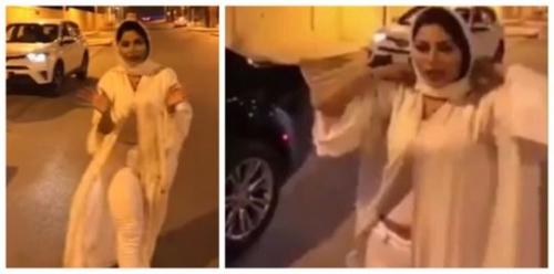 """عرفت بـ""""عارية الرياض"""".. الإعلامية السعودية شيرين الرفاعي تعتذر عن ظهورها المثير للجدل"""