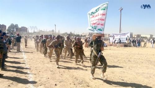 الشرق الاوسط.. الحوثيون يجندون نازحين... ويغرونهم بمساعدات إنسانية