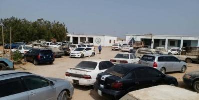حملة مرورية ضد السيارات المخالفة بالمهرة