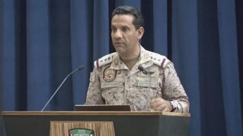 التحالف.. الشرعية اليمنية تسيطر نارياً على مركز مديرية باقم