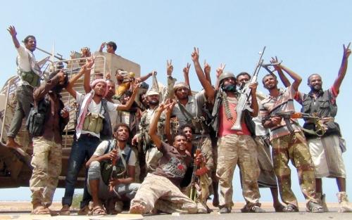 قوات الشرعية  تحرر مواقع استراتيجية في الكدحة غرب تعز