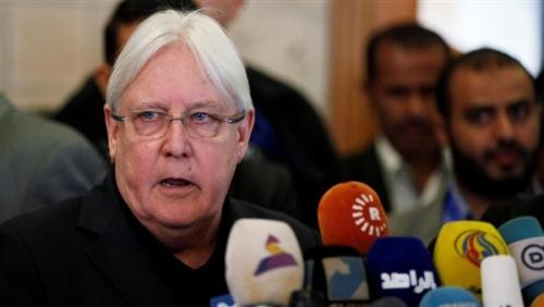 غريفيث يكشف عن موعد بدء المشاورات التي سترعاها الأمم المتحدة لحل الأزمة اليمنية