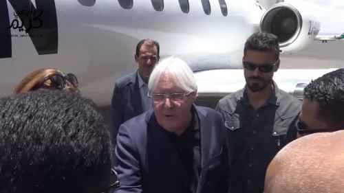 المبعوث الأممي مارتن غريفيث يصل صنعاء للقاء قيادات الحوثي