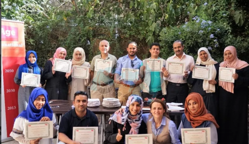 «هليب إيج» تنفيذ تدريبًا لمنظمات إنسانية عاملة في اليمن