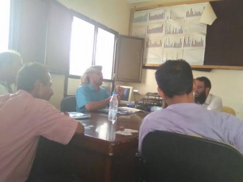مدير عام طور الباحة يترأس اجتماعاً مشتركاً بأدارتي الصحة ومستشفى المديرية