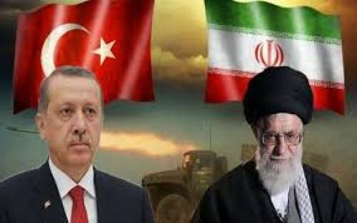 تركيا وإيران.. الداعم الخلفي لجرائم الحوثي في البحر الأحمر