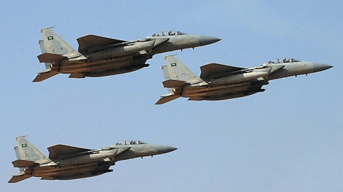 صعدة..مقاتلات  التحالف تستهدف تعزيزات للحوثيين في الظاهر والملاحيط
