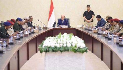 الرئيس هادي يعلن تشكيل غرفة عمليات أمنية بالتنسيق مع التحالف العربي