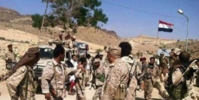 صعدة : قوات الشرعية تحرر مواقع جديدة في مديرية كتاف