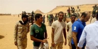 تحرير 5 مصريين بتنسيق بين الاستخبارات السودانية والمصرية