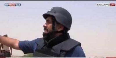 شاهد ماذا يقول مراسل الحزم للحوثيين شمالي صعدة