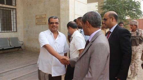 بالتفاصيل.. زيارة البحسني للإدارة العامة لصحة ساحل حضرموت