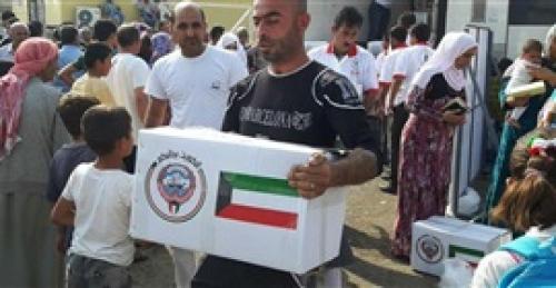 الكويت تدفع بمساعدات إنسانية للمتضررين في التحيتا