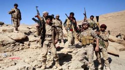 القوات الحكومية تتقدم بالجوف وقتلى في صفوف الحوثي