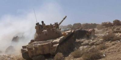 القوات الحكومية تتقدم بالقرب من الخط الدولي في صعدة