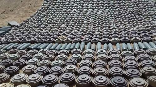 إيران تفخخ اليمن بأكبر عدد من الألغام في العالم