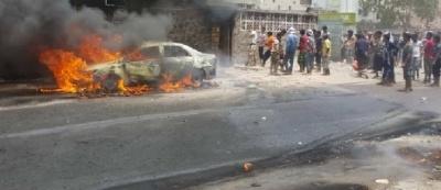 انفجار مولد كهربائي يتسبب باحتراق منزل وسيارة في المنصورة