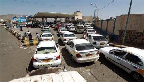 المليشيات الحوثية ترفع أسعار الـ20 لتر وقود بصنعاء إلى 8 آلاف ريال