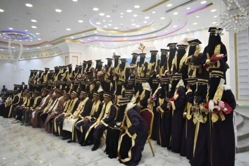 المجلس الانتقالي  يرعى حفل تخرج الدفعة 17 لطلاب قسم الدراسات الإسلامية بجامعة عدن