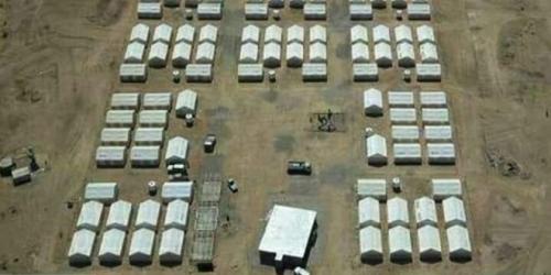 مليشيا الحوثي تقصف مخيماً للنازحين شرق صنعاء وسقوط جرحى