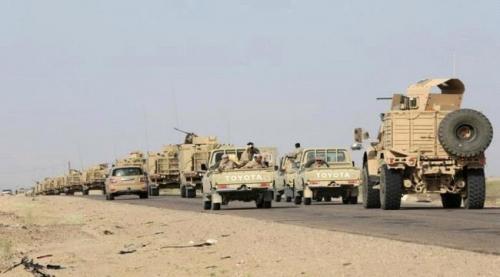 تعزيزات عسكرية لألوية العمالقة بالدريهمي تمهيدا لتحريرها