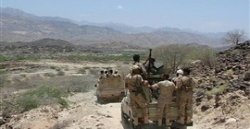 قوات الشرعية  تُفشل تسللا للمليشيا في مريس شمال الضالع