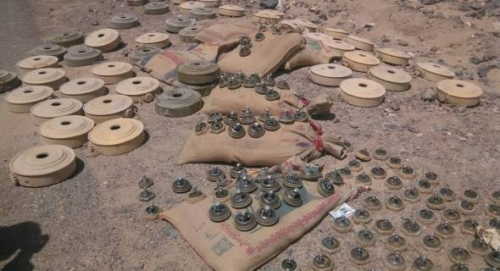 مليون لغم زرعها الحوثيون باليمن خلال 3 سنوات