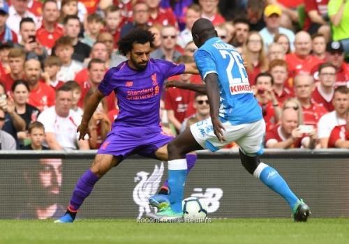 بالصور: ليفربول يستعرض عضلاته أمام نابولي