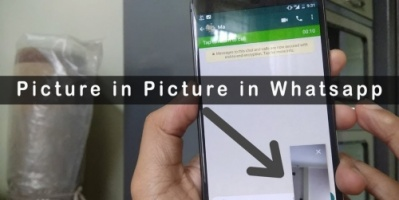 تطبيق واتساب على أندرويد يختبر ميزة صورة داخل صورة لمقاطع الفيديو