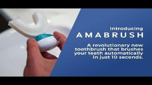 ابتكار فرشاة تنظف الأسنان في 10 ثوان!