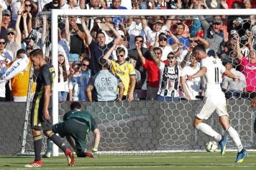 """بالصور.. """"أسينسيو""""  يقود ريال مدريد لتحقيق فوز كبير على يوفنتوس في الكأس الدولية للأبطال"""