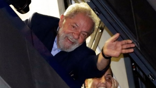 لولا دا سيلفا يترشح للانتخابات الرئاسية فى البرازيل من السجن