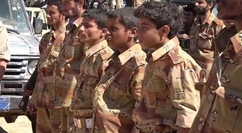 ميليشيا الحوثي تجند الأطفال إجباريا في باجل لتعويض خسائرها