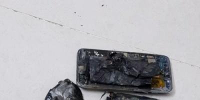 """بالصور.. هاتف """"غالكسي"""" كاد أن يتسبب بكارثة في السعودية"""