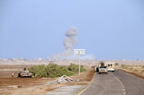 طيران التحالف يباغت المليشيات الحوثية بالدريهمي ومزارع الجاح
