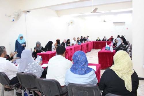 ورشة عمل في عدن لإعداد خطة وطنية لحماية المرأة