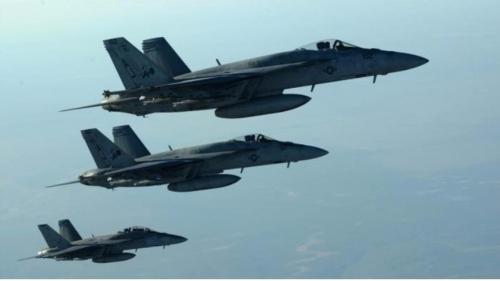 مقتل 28 داعشيا في قصف جوي للتحالف على شرق سوريا #العربية