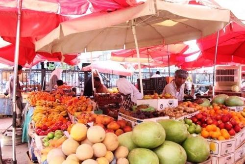 أسعار الخضروات والفواكة واللحوم والأسماك في سوقي عدن وحضرموت لليوم الثلاثاء 7 أغسطس 2018