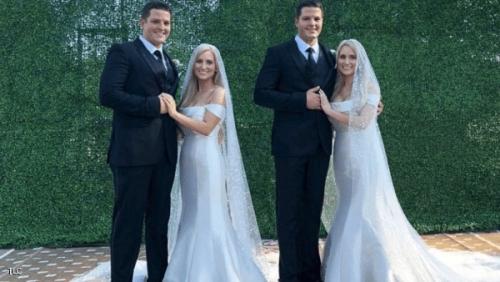 هذه الصورة حقيقة لزفاف مدهش